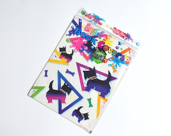 Deadstock 1989 Lisa Frank Dogs & Flamingos Book Covers