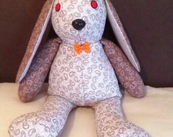 Soft rabbit toy