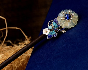 Chinese style hair stick,Hair pin,Hair Accessories,wood hair stick