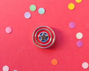 Captain America Shield pin