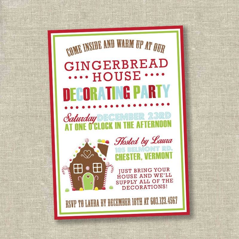 Lovely Kids Christmas Party Invites Images - Invitation Card Ideas ...