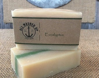 Eucalytpus - Handmade Soap - Vegan - Homemade Soap - All Natural