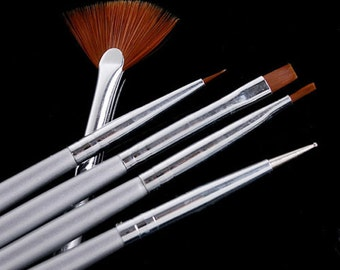 Details about Nail Art Design Pen Brush Painting Dotting Drawing Set
