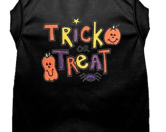 Dog Halloween Costume - Dog Halloween Shirt - Trick or Treat - Custom Dog Shirt - Dog Costume - Pet Costume - Dog Halloween - Dog Clothing