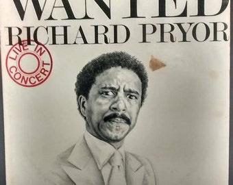 """Richard Pryor """"Wanted""""  Live In Concert 1978 Double LP Vinyl"""