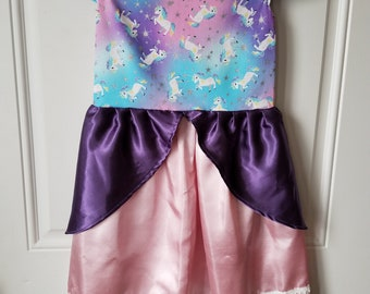 Size 8 Unicorn Princess Dress