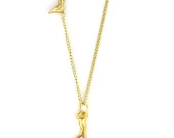 Birdhouse Jewelry - Antler Necklace