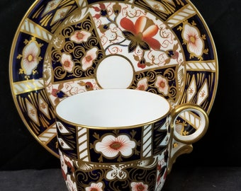 Royal Crown Derby 2451 Traditional Imari Tea Cup and Saucer  (multiple available)