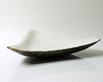 Triangle Hand Formed Bowl Platter