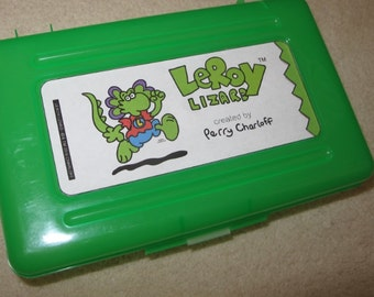 LeRoy Lizard School Supplies Pencil Box