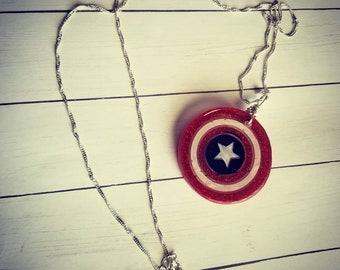 Captain America Shield pendant