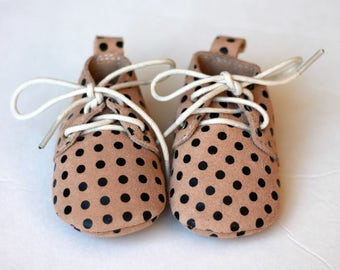 Oxford Baby Shoes, Baby Moccasins, Leather Baby Lace Up Boot, Baby Boy Moccs, Baby Oxford Shoes, Baby Shower Gift