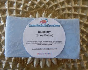 Blueberry Shea Butter Bar Soap