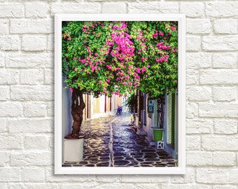 Printable photography, digital download, wall art photography, travel prints, Greece pictures, travel photography printables, Greece photo