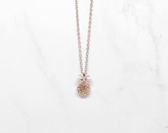 Piper Necklace Rose Gold