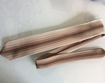 Lanvin Paris silk designer tie