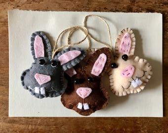 Hanging Easter Bunny Decoration - Easter Decoration