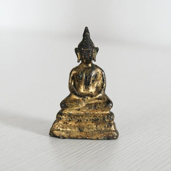 Small Bronze Buddha Rattanakosin - Thailand - 20th c