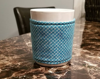 Cup Cozy/ Mug Cozy/ Coffee Cozy...Mug Included/ Kitchen Gift/ Office Gift