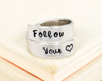 Follow Your Heart Wrap Ring