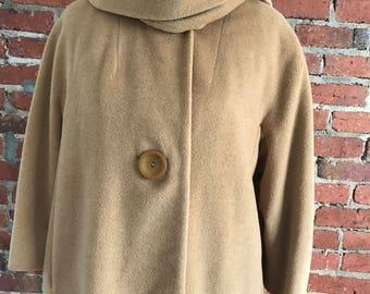 50's Jacket : Mod Dress Coat