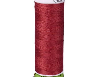 Chili Red Gutermann Recycled Polyester Thread (GT46)