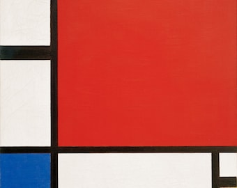 Piet Mondrian Composition in Red, Blue and Yellow, 1930
