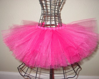DOG TuTu Skirt for the Pet Lover Custom Tu Tu XXS  XS Small Med Large- Very Pink