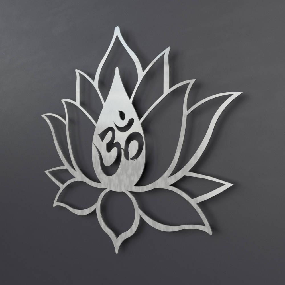 Om lotus flower metal wall art om wall decor om wall art gallery photo gallery photo gallery photo mightylinksfo