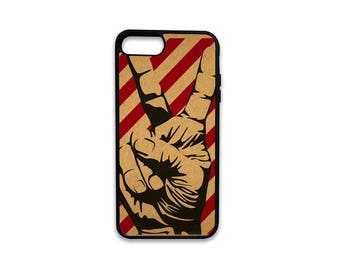 Peace Out iPhone Case