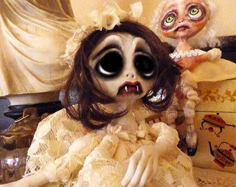 OOAK Shelf Sitter Art Doll
