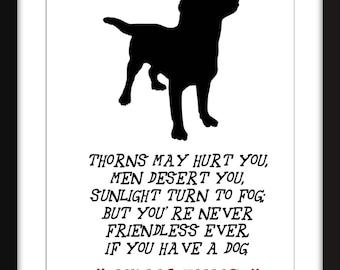 Mark Twain Cat Quote Unframed Print