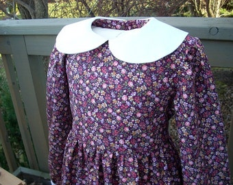 "Girls Pioneer Dress ""Laura Ingalls"" Special Order Only"