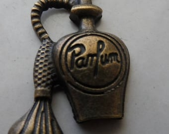 set of 5 vintage perfume bottle charm
