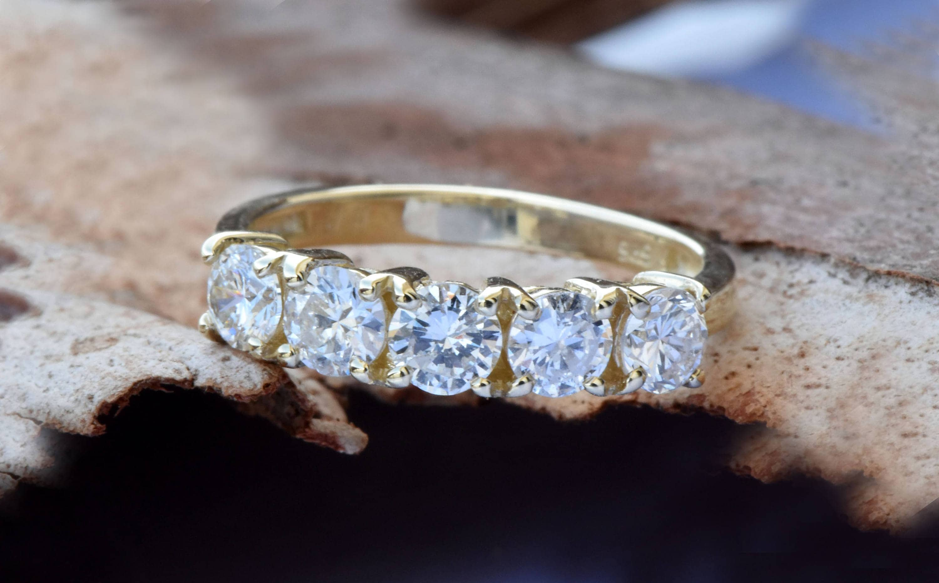 fullxfull olivacom full wedding tone gold bands products art deco band ring diamond shank il vintage antique double engagement