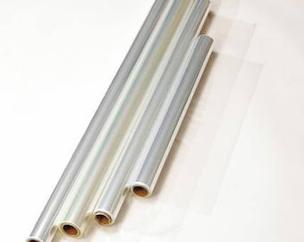 """Gift Wrapping Clear Cellophane Roll Gift Basket Arts and Crafts (40"""" X 100"""")"""