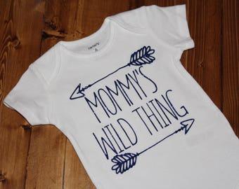 Mommy's Wild Thing Bodysuit