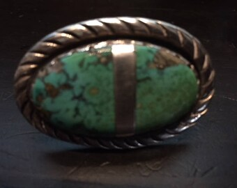 Native American Turquoise Ring Size 8.5