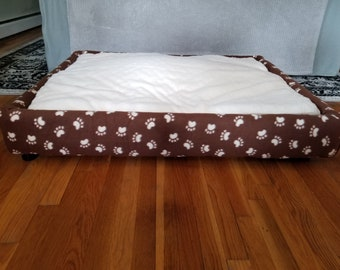Handmade Platform Dog Bed - Multiple Sizes!