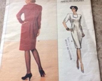 Vogue American Designer Geoffrey Beene Pattern 2353