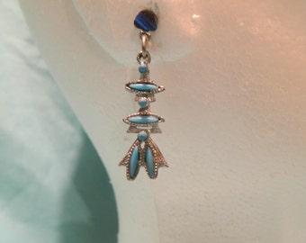 Upcycled Earrings - Handmade - One Of A Kind