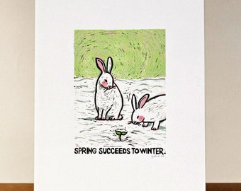Proverb 5: Spring succeeds to winter
