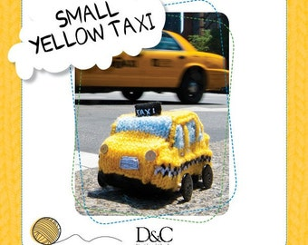 Small Yellow Taxi Knitting Pattern Download 803229