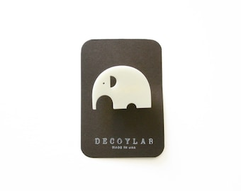 Elephant Pin, Cute brooch, small gift