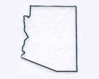 Arizona State Tea Towel   Personalized Kitchen   Embroidered Kitchen Towel   Embroidered Towel   Embroidered Tea Towel   Arizona Gift