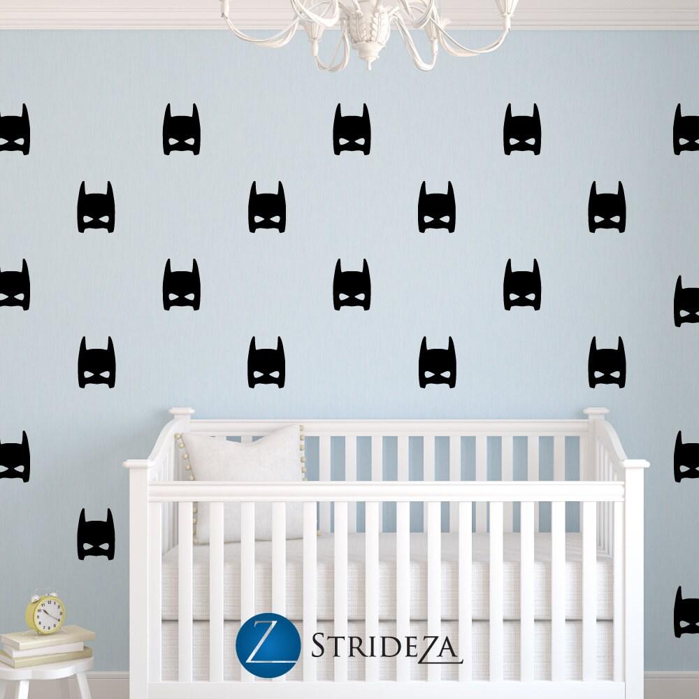 Superhero Decal Superhero Decorations Superhero Wall Decal - Superhero wall decals for boys