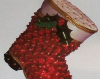 Red Santa Boots Pinflair Kit