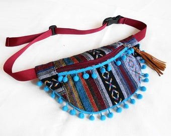 Fanny pack xoxo ethnic/fanny pack/Hip Bag/belt bag/boho bum bag/fanny pack festival/crossbody bag/waist bag/festival fanny pack/BUY3GET1FREE