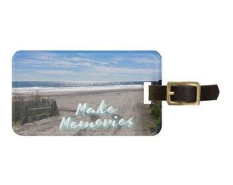 Make Memories Luggage Tag