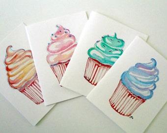 Cupcake Art Notecards (Ed. 2) , Set of 12